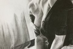 After-the-Fight-pencil-drawing-emily-dewsnap-art