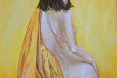All-Yellow-original-painting-emily-dewsnap
