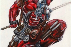 Deadpool-Commission-painting-emily-dewsnap-art