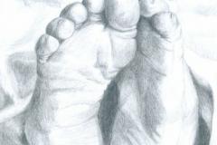 Feet-pencil-drawing-emily-dewsnap-art