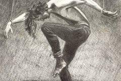 Fernal-Commission-pencil-drawing-man-in-bondage-emily-dewsnap-art