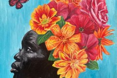 Fleur-flowers-painting-original-painting-emily-dewsnap