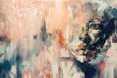 Hidden-Face-Abstract-painting-emily-dewsnap-art
