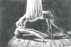 hanging-ballerina-pencil-drawing-emily-dewsnap-art