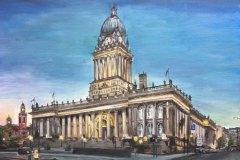 Leeds-Town-Hall-Emily-Dewsnap-art-painting