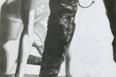 On-Your-Knees-Boy-pencil-drawing-emily-dewsnap-art