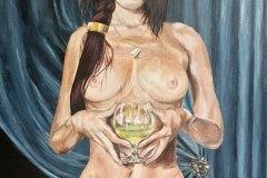 Poison-alchemist-painting-original-painting-emily-dewsnap