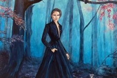 Precious-Time-witch-original-painting-emily-dewsnap