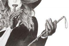 Shush-pencil-drawing-emily-dewsnap-art