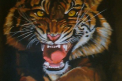 Snarling-Tiger-Commission-painting-emily-dewsnap-art