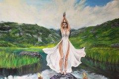 Summoning-Spell-painting-emily-dewsnap-art