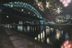 Tyne-Bridge-Commission-newcastle-painting-emily-dewsnap-art