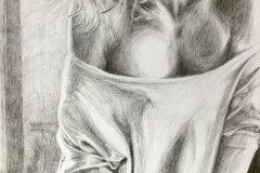 duvet-day-pencil-drawing-emily-dewsnap-art