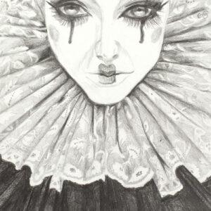elizabethan-clown-pencil-drawing-emily-dewsnap