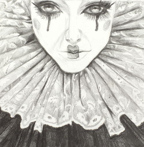 elizabethan-clown-pencil-drawing-emily-dewsnap