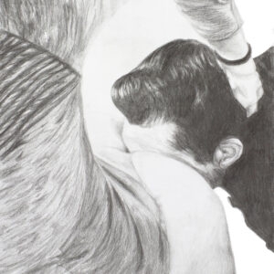 know-your-place-fetish-pencil-drawing