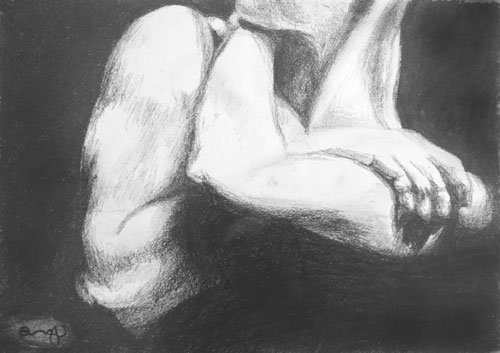 grasp-pencil-drawing-original-art