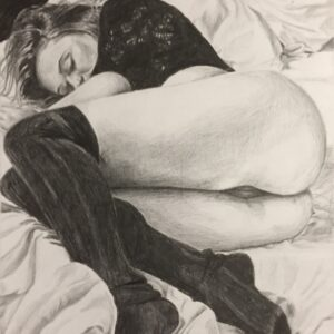nap-time-pencil-drawing-emily-dewsnap
