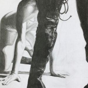on-your-knees-boy-femdom-art-emily-dewsnap