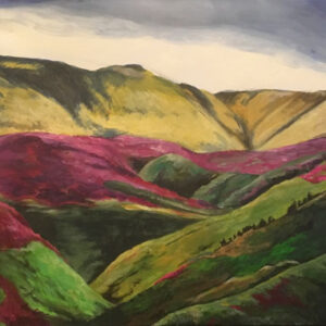 north-york-moors-painting-emily-dewsnap