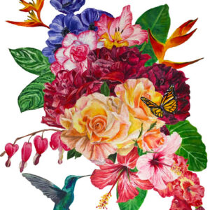 tropical-flowers-painting-emily-dewsnap