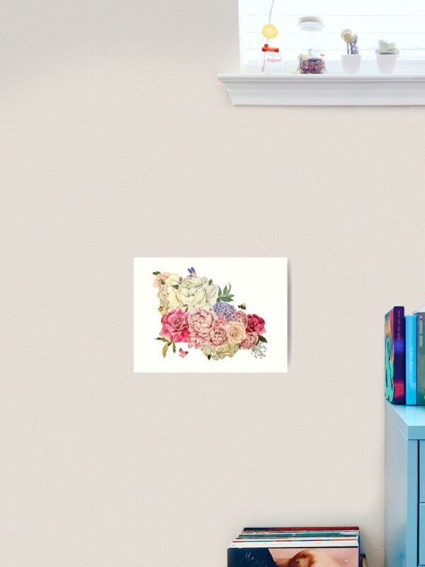 bouquet-of-flowers-unframed