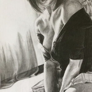 after-the-fight-goth-girl-pencil-drawing-emily-dewsnap