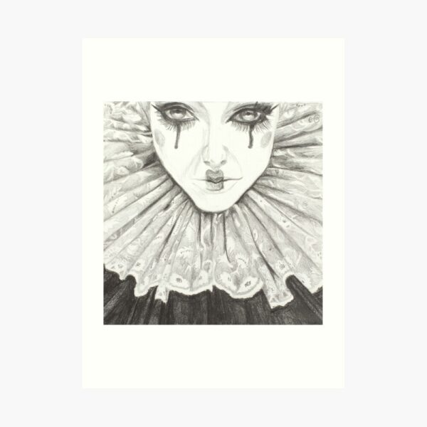 elizabethan-clown-pencil-drawing-pennywise-joker-emily-dewsnap