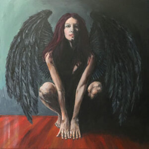 bringer-of-light-devil-painting-original-gothic-art-emily-dewsnap