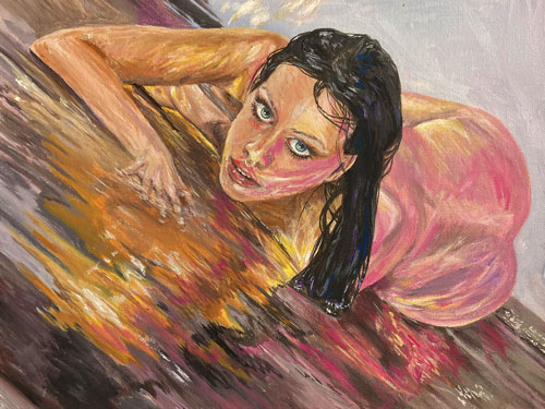 siren-call-modern-mythology-original-painting-emily-dewsnap