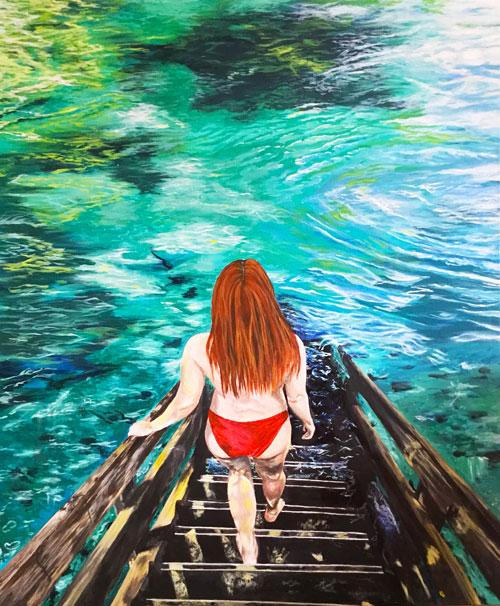 ginnie-springs-florida-original-painting-emily-dewsnap