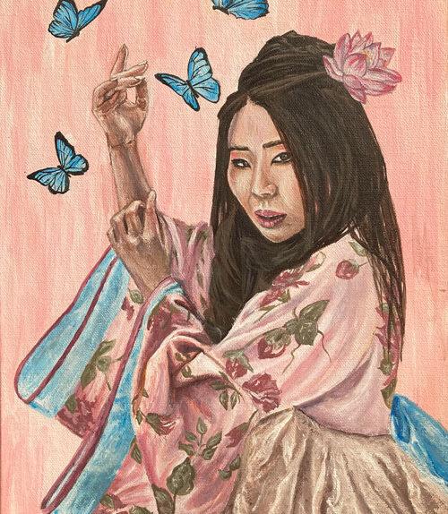 psyche-japanese-mage-original-art-emily-dewsnap