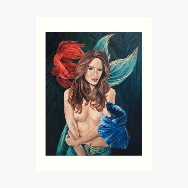 fighter-mermaid-art-download-emily-dewsnap-yorkshire