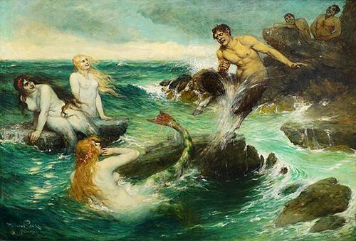 the-mermaids-ferdinand-leek-emily-dewsnap-art-blog