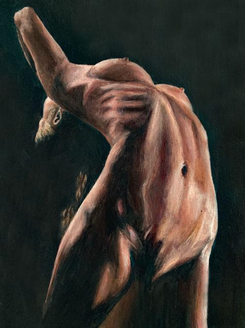 contort-dancer-original-painting-emily-dewsnap-art