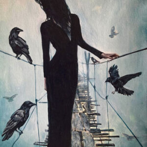 raven-crossing-nevermore-painting-emily-dewsnap-art